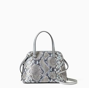 Kate Spade Snake Embossed Small Dome Satchel